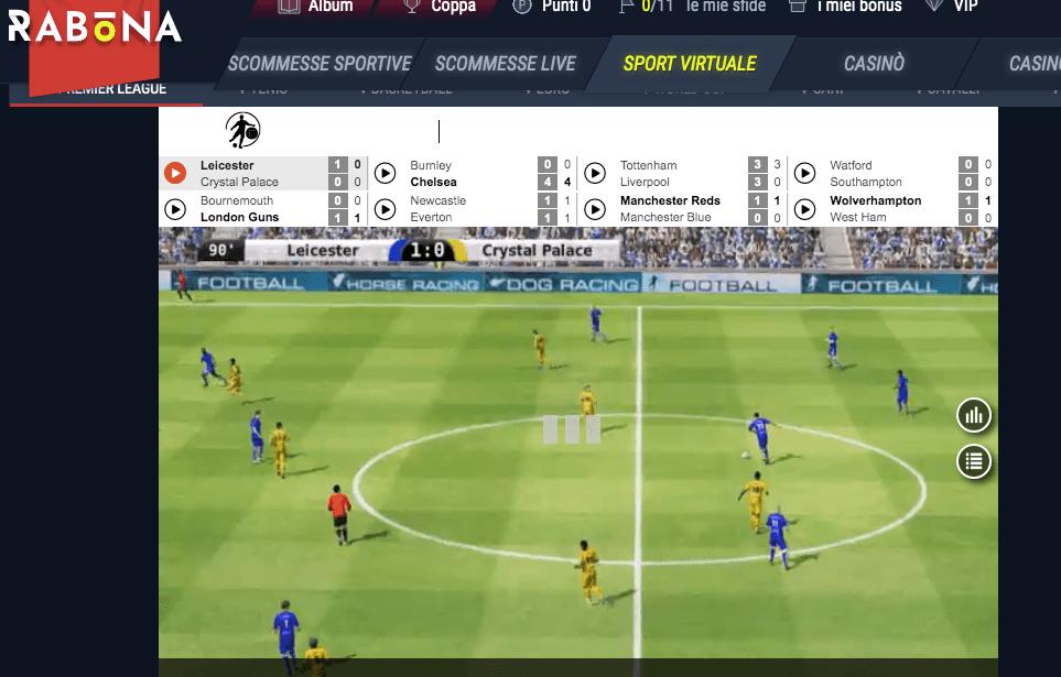 siti non aams ti spiega cosa è il calcio virtuale e come funziona.