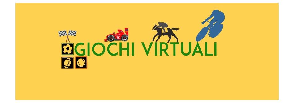 Giochi Virtuali, scommesse virtuali, cani virtuali, cavalli virtuali, calcio virtuale